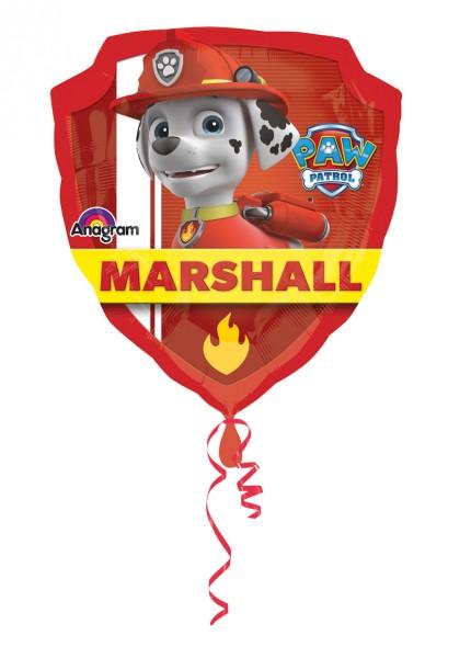 Paw Patrol Folienballon Chase & Marshall