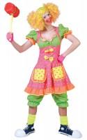 Buntes Zirkusmädchen Kleid Lissy