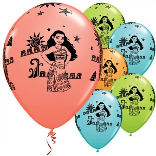 Vaiana Südsee Luftballons 28cm