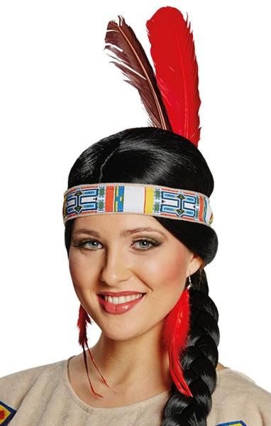 Gemustertes Sariel Indianer Stirnband