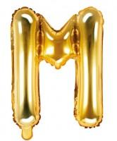 Folienballon M gold 35cm