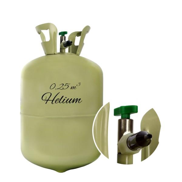 1 réservoir d'hélium 0,25 m ^ 3