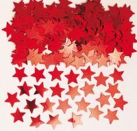 Funkelnde Stern Streudeko Stella Rot Metallic