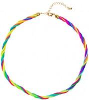 Neon Regenbogen Halskette