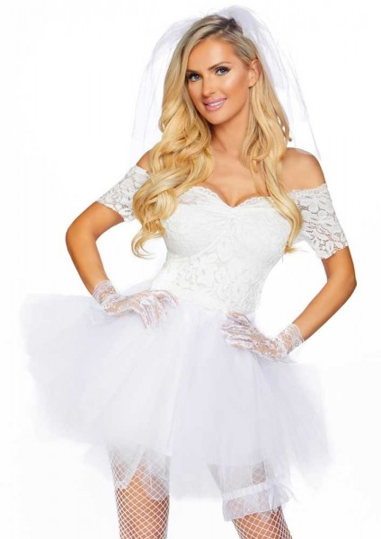 Costume da donna Rocker Bride Deluxe