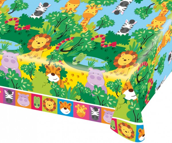 Safari Party Tischdecke 1,8 x 1,2m