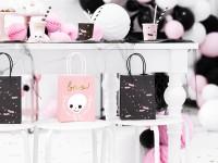 6 Boo Town Geschenktüten rosa