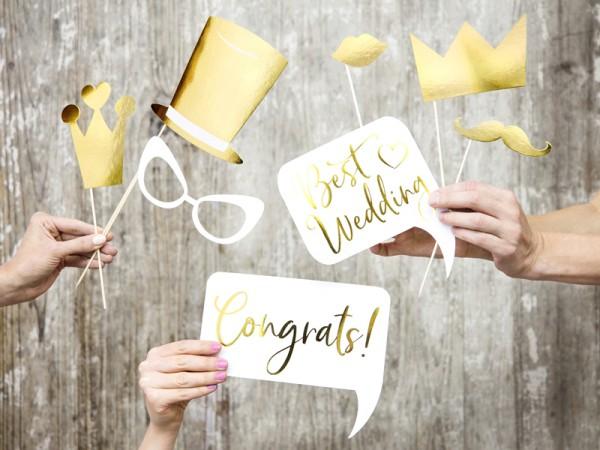 8 demandes de photo de félicitations de mariage