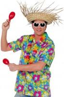Hawaiihemd Happy Flower