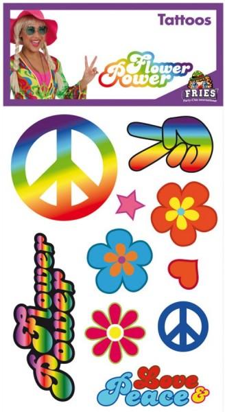 Tatuajes De Amor Y Paz Hippie