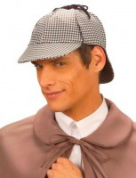 Casquette de costume de détective