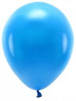 100 Eco Pastell Ballons blau 30cm