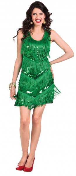 20er Jahre Flapper Weihnachtskleid