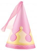 4 Prinzessin Isabella Partyhüte 16cm