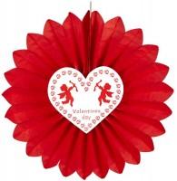 Valentines Day Papierrosette Amor 61cm