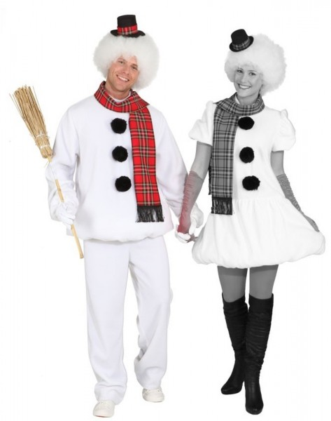 Snowman Benny men's costume