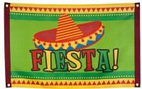 Grüne Mexiko Fiesta Fahne 90x60cm