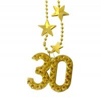 Halskette Big Stars Zahl 30