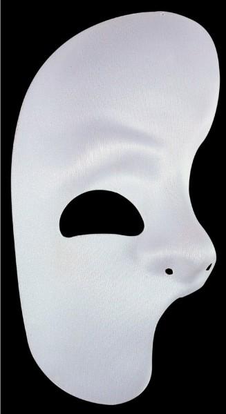 Weiße Phantom Maske