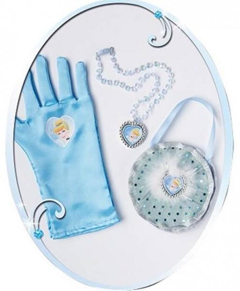 Cinderellas Ball Accessoires Verkleidungsset