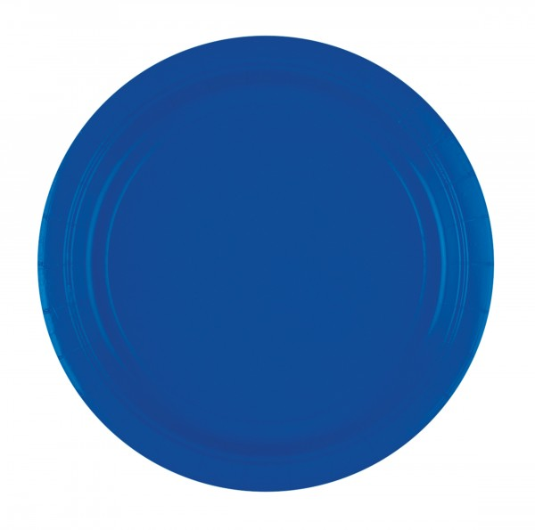 8 piatti blu atlantico 22,8cm