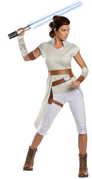 Star Wars Lizenz Damenkostüm Rey