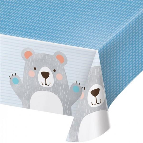 Party bear tablecloth 1.3mx 1.9m