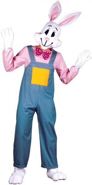 Lustiger Hase In Latzhosen Kostüm
