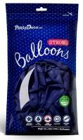 10 Partystar Luftballons dunkelblau 27cm