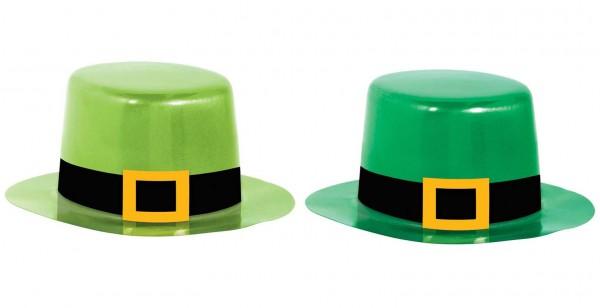 8 Grüne St. Patricks Day Mini-Hüte