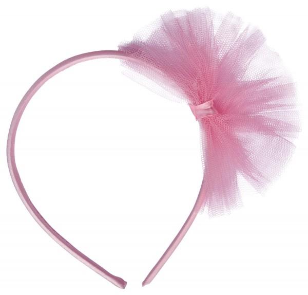4 Kleine Ballerina Haarreifen pink