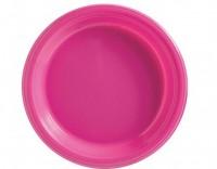 50 Kunstoff Teller pink 18cm
