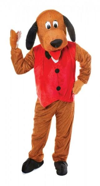Costume mascotte de chien Bello