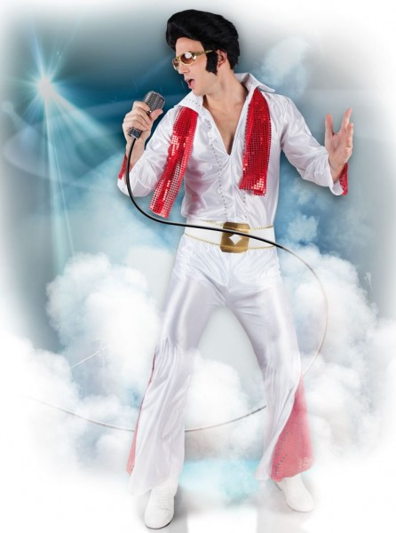King Elvis Rock`n Roll Kostüm