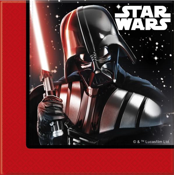 20 Star Wars Final Battle Servietten 33cm