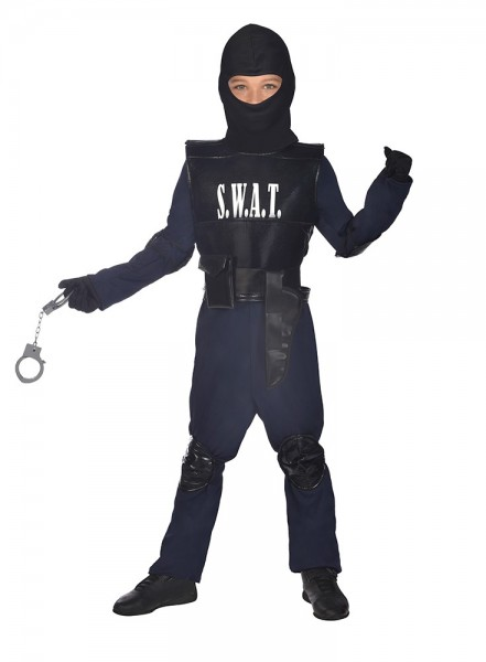SWAT Agent Deluxe Children's Costume