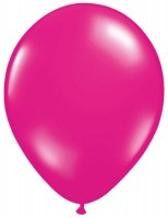 10 Latex Ballons Magenta 30cm