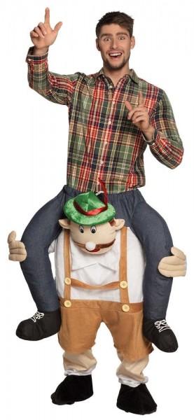 Huckepack Alpen Frank Kostüm