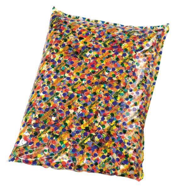 1 kg farverig konfetti