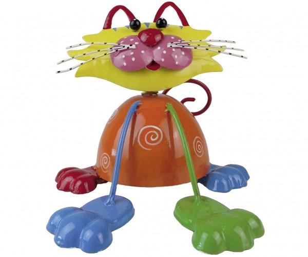 Katze Milan Blechfigur 15x15x14,5cm