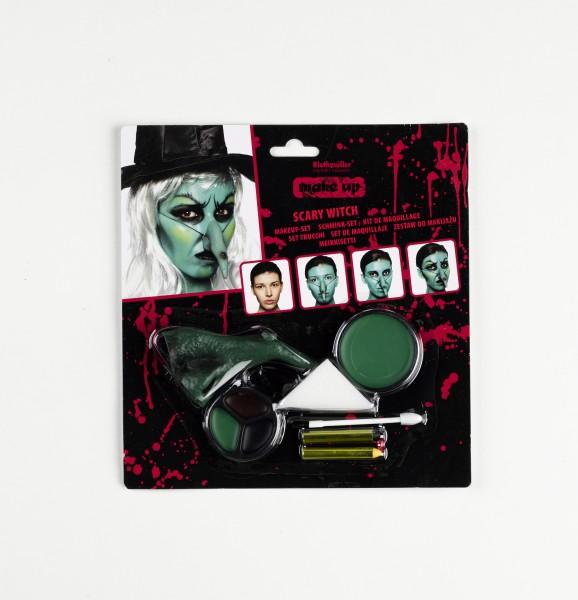 Halloween heks make-up
