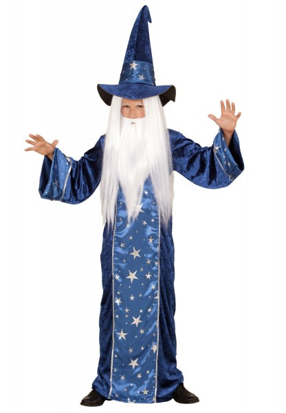 Magical wizard child costume