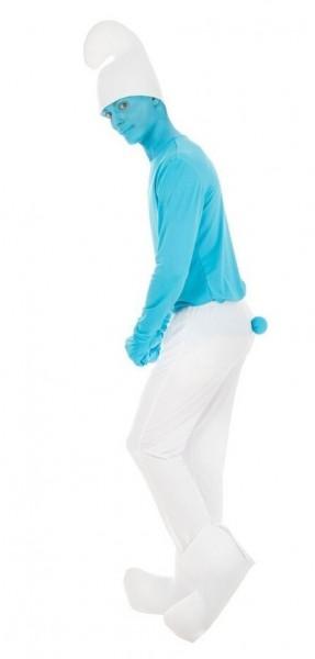 Blaues Schlumpf Kostüm für Erwachsene