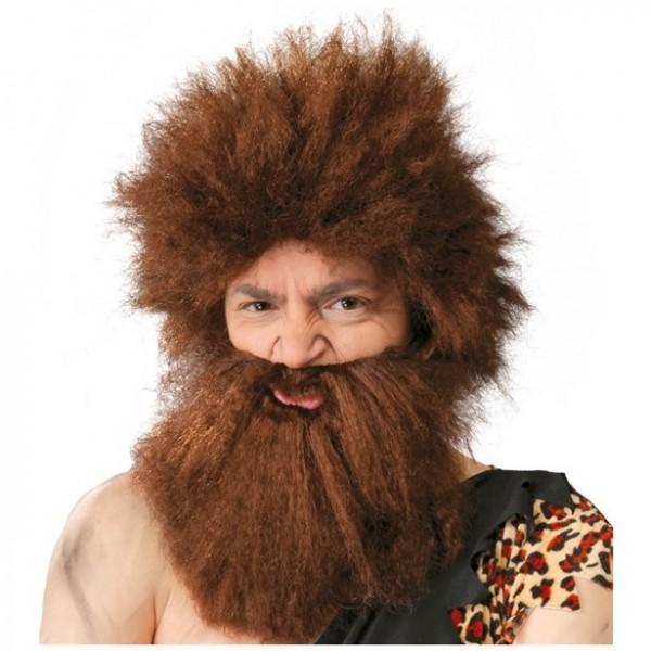 Caveman Ugo pruik & baard