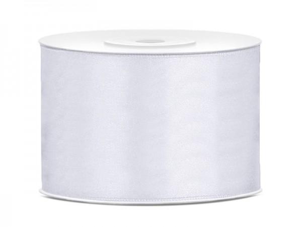 25m cinta blanca de satén 5cm