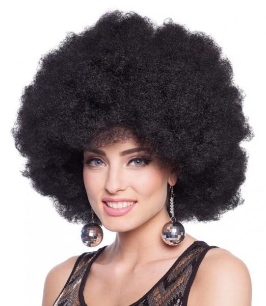 XXL Afro Perücke in Schwarz
