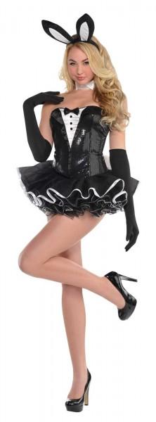 Sexy Häschen In Black Damenkostüm