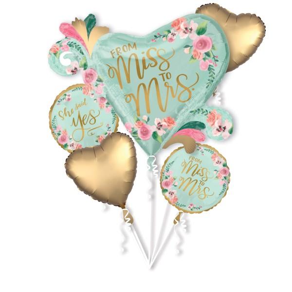 Miss to Mrs Folienballon Set