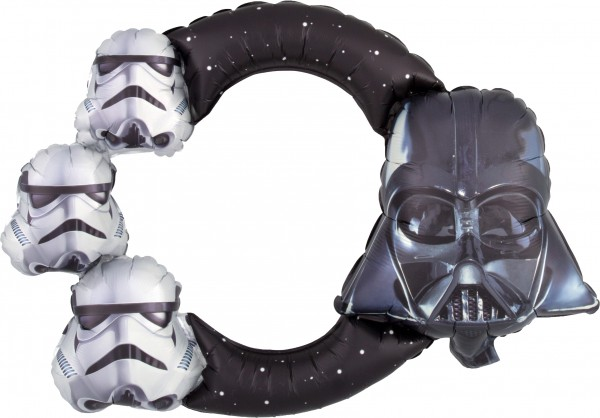 Star Wars Fotorahmen Ballon