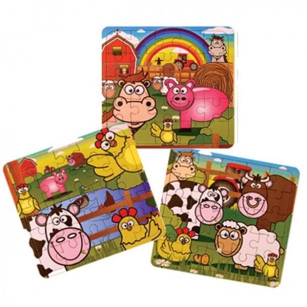 Farm Puzzle Giveaway 13 x 12 cm